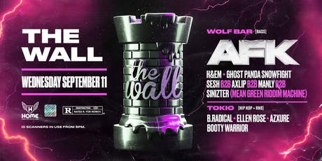 The Wall ft. AFK [USA], H&EM & MORE! tickets
