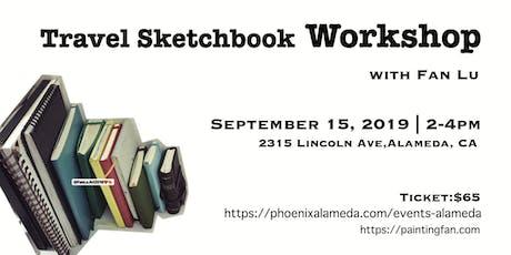 Travel Sketchbook Workshop with Fan Lu tickets
