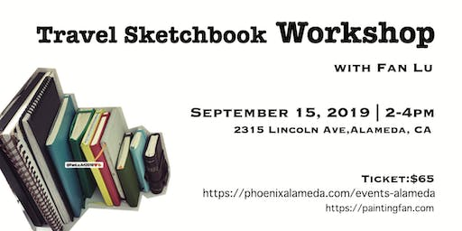 Travel Sketchbook Workshop with Fan Lu