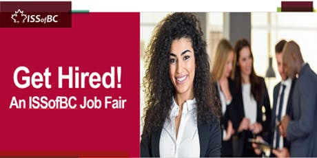 Get Hired! An ISSofBC Job Fair tickets