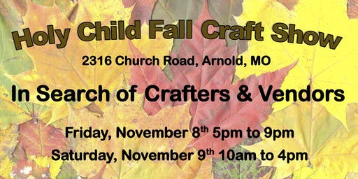2019 Holy Child Craft Show
