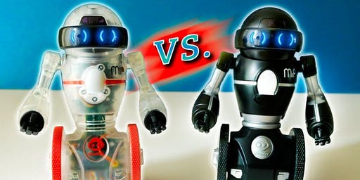 Hop To It Saturday Kids Club: MIPS Robot Battle