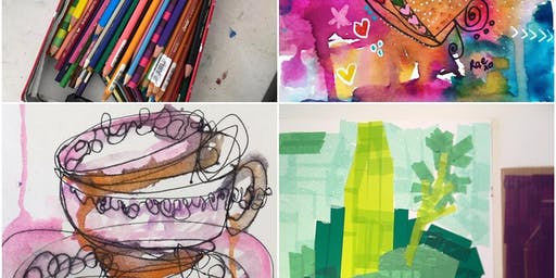 ART THERAPY - a short notice ticket from $9!