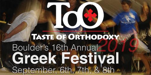 Boulder's Greek Festival