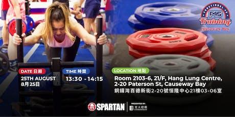 Spartan Race X F45 CWB tickets