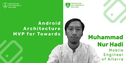 Android Architecture MVP for Towards the Unit