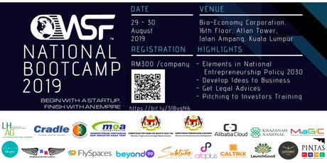 WSF National Bootcamp tickets