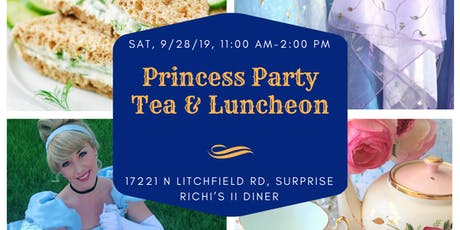Princess Party Tea & Luncheon tickets