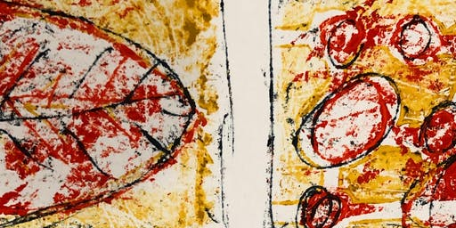 Full Day Introductory Monoprint with Stencils Workshop with Jo