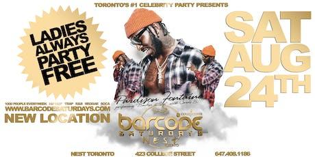 Pardison Fontaine Live at NEST Toronto tickets