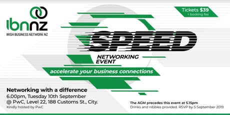 IBNNZ Speed Networking - Sept 2019 tickets