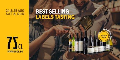 Best Selling Labels Tasting