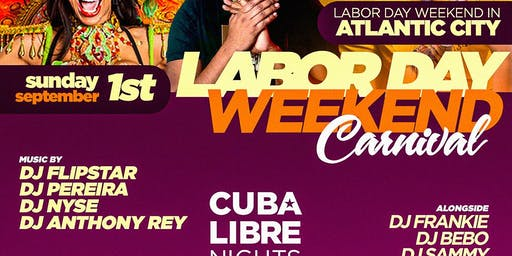 Laborday Wknd Getaway to AC - Chelsea Beach Bar - Cuba Libre