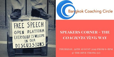 Speakers Corner - The Coachnecting Way 2.0 tickets