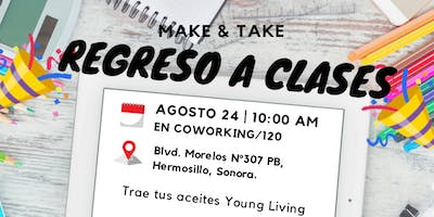 Make & Take Regreso a Clases