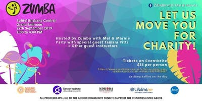 LET US MOVE YOU – Zumba Charity Class