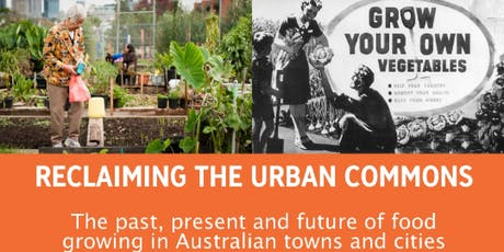 Reclaiming the Urban Commons with Dr Andrea Gaynor tickets