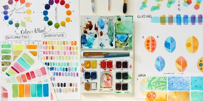 Colour-mixing Masterclass - Adult watercolour - All levels