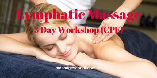 Lymphatic Massage - 3 Day CPE Event (21hrs)