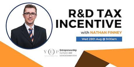 R&D Tax Incentive tickets