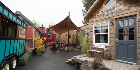 Tiny House Tour-  Sunday, October 27th- 3pm-4pm* tickets