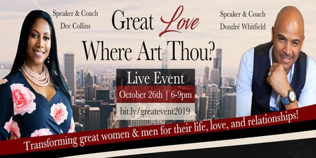 Great Love Where Art Thou? tickets