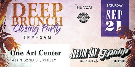 Deep Brunch 2019 Closing Party ft. Justin Jay & J.Phlip tickets