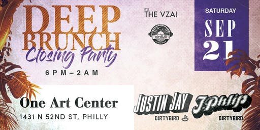Deep Brunch 2019 Closing Party ft. Justin Jay & J.Phlip