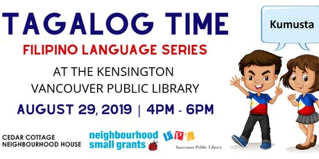 Tagalog Time at VPL: An Afternoon of Games  tickets