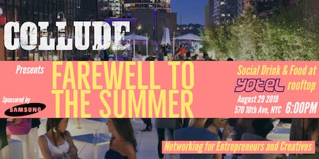 Collude presents - Farewell to the Summer Networking for Entrepreneurs and Creatives tickets