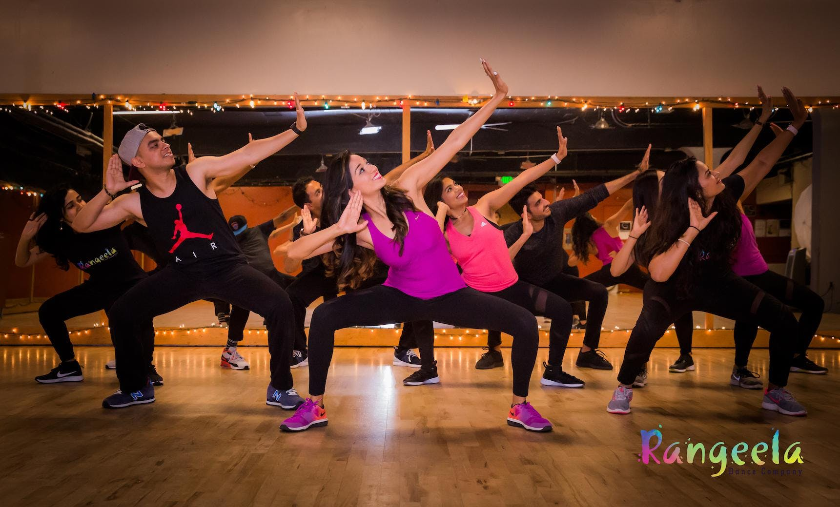 8 Class Pack: Bollywood Dance Workshops With Rangeela banner