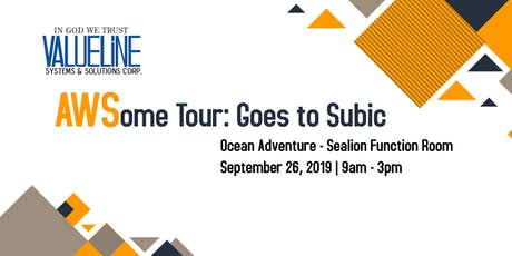 AWSome Tour goes to Subic: Intro to Cloud Essentials tickets