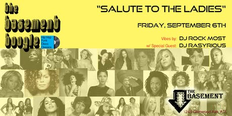 The Basement Boogie: Salute To The Ladies tickets