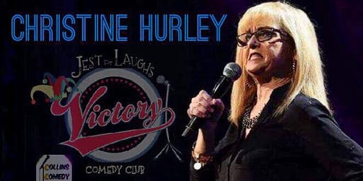 Christine Hurley at Jest For Laughs/Victory Grille