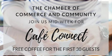 Chamber Cafe Connect August 2019 tickets