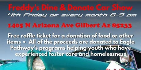 Freddy's Dine & Donate tickets
