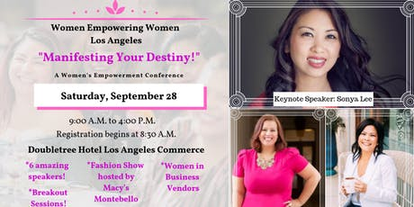"Women Empowerment Conference - WEW-LA presents ""Manifesting Your Destiny!"" tickets"