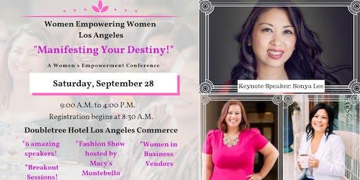 "Women Empowerment Conference - WEW-LA presents ""Manifesting Your Destiny!"""