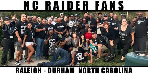 NC Raider Fans: Oakland Raiders vs. Detroit Lions Watch Party