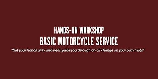 Hands-on Workshop - Basic Motorcycle Service