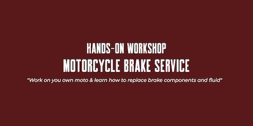 Hands-on Workshop - Motorcycle Brake Service