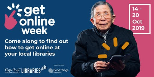Get Online Week Morning Tea - Tiaro - All ages