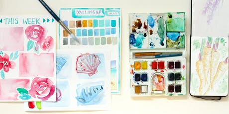 Travel Journalling with Watercolours - Adult Workshop tickets