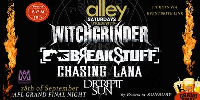Witchgrinder / Break Stuff @ The Alley