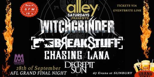 Witchgrinder / Break Stuff @ The Alley