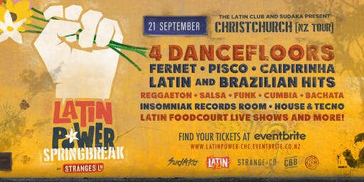 Latin Power Springbreak Festival [Christchurch]