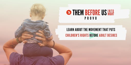 Them Before Us Info Night - Provo