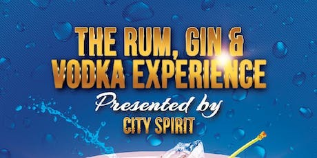 The Rum, Gin & Vodka Experience tickets