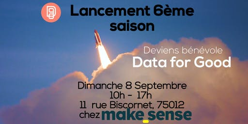 Lancement 6ème saison Data for Good