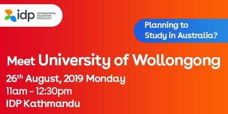 Planning to study in Australia? Meet University of Wollongong- 26th Aug tickets